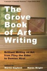 The Grove Book of Art Writing