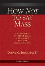 ISBN: 9780809149445 - How Not to Say Mass