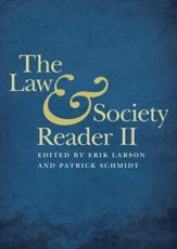 The Law and Society Reader II