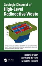 Geologic Disposal of High-Level Radioactive Waste
