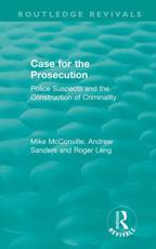 Case for the Prosecution