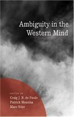 Ambiguity in the Western Mind