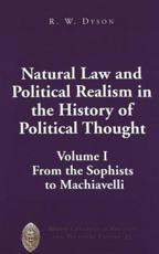 Natural Law and Political Realism in the History of Political Thought