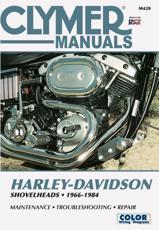 Clymer Harley-Davidson Shovelheads, 1966-1984 - Ron Wright, Clymer publications