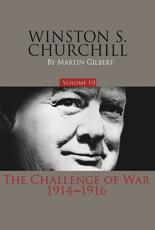 Winston S. Churchill, Volume 3 Volume 3