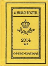 Almanach De Gotha 2014 - John E. James (editor)