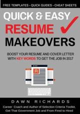 Quick & Easy Resume Makeovers
