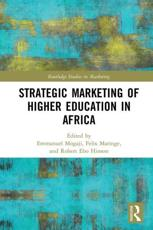 Strategic Marketing of Higher Education in Africa