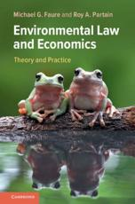 Environmental Law and Economics