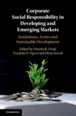 Corporate Social Responsibility in Developing and Emerging Markets
