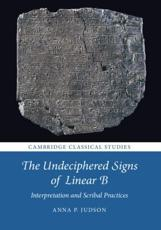 The Undeciphered Signs of Linear B