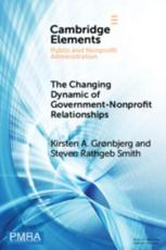 The Changing Dynamic of Government-Nonprofit Relationships