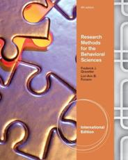 Research Methods for the Behavioral Sciences - Frederick J Gravetter, Lori-Ann B Forzano