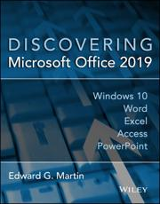Discovering Microsoft Office 2019