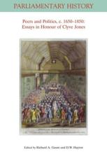 Peers and Politics, C. 1650 - 1850