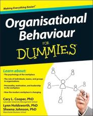 Organisational Behaviour for Dummies