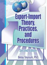 Export-Import Theory, Practices, and Procedures