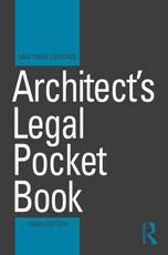 Architect's Legal Pocket Book