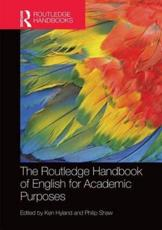 ISBN: 9781138774711 - The Routledge Handbook of English for Academic Purposes