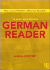 ISBN: 9781138898035 - The Routledge Modern German Reader