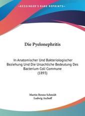 Die Pyelonephritis - Martin Benno Schmidt (author), Ludwig Aschoff (author)
