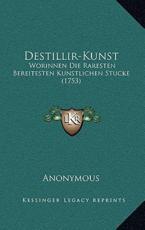 Destillir-Kunst - Anonymous (author)