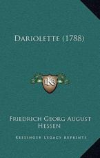 Dariolette (1788) - Friedrich Georg August Hessen (author)