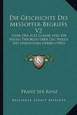 Die Geschichte Des Messopfer-Begriffs V2
