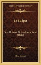 Le Budget - Stourm (author)