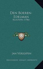 Den Boeren-Edelman - Jan Verslypen (author)