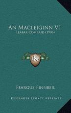 An Macleiginn V1 - Feargus Finnbeil (author)