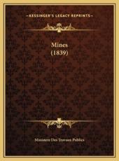 Mines (1839) - Ministere Des Travaux Publics (other)