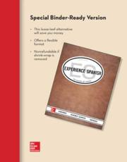 Looseleaf for Experience Spanish (Student Edition)