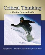 Critical Thinking With Connect Access Card