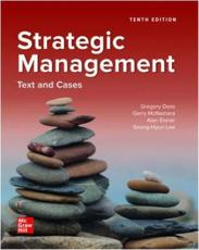 ISE Strategic Management: Text and Cases