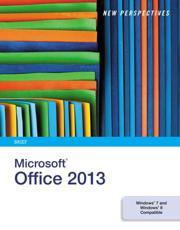 New Perspectives on Microsoft¬ Office 2013