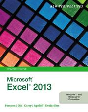 New Perspectives on Microsoft Office Excel 2013. Comprehensive