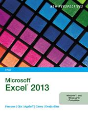 New Perspectives on Microsoft¬ Excel¬ 2013, Brief