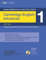 Cambridge Advanced Practice Test 1 With Key