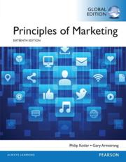 Principles of Marketing OLP With eText, Global Edition