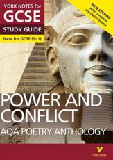 AQA Poetry Anthology. Power and Conflict