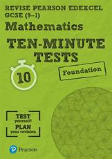 Maths Ten-Minute Tests. Foundation