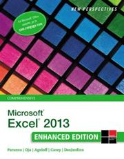 New Perspectives on Microsoft Excel 2013. Comprehensive