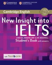 ISBN: 9781316602454 - New Insight into IELTS Student's Book with Answers with Testbank