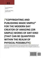 Copyrighting and Publishing Made Simple