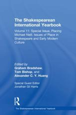 The Shakespearean International Yearbook. Volume 11 Special Issue
