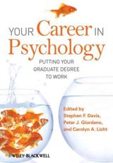 Your Career in Psychology