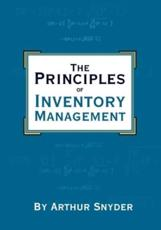 The Principles of Inventory Management