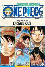 One Piece. Volumes 34, 35, 36 Water Seven
