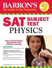 Barron's SAT Subject Test Physics, 2nd Edition